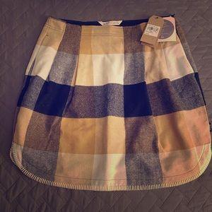 Woolrich Plaid Wool Skirt